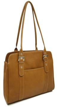 Piel Leather LADIES BUCKLE BUSINESS TOTE