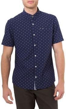 7 Diamonds Men's Star Quality Dobby Woven Shirt