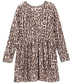 Splendid Animal Print Loose Knit Dress (Toddler Girls)
