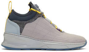 Filling Pieces Grey Inner Circle Deconstructed Shark Sneakers
