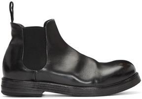 Marsèll Black Zucca Zeppa Chelsea Boots