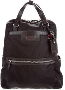 Tumi Leather & Nylon Backpack