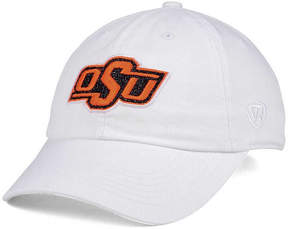 Top of the World Women's Oklahoma State Cowboys White Glimmer Cap