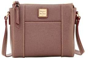 Dooney & Bourke Saffiano Lexington Crossbody Shoulder Bag - ELEPHANT - STYLE