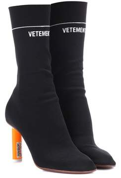 Vetements Stretch-jersey ankle boots