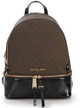 MICHAEL Michael Kors Rhea Zip Medium Colorblock Backpack