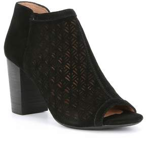 Antonio Melani Jonah Suede Perforated Side Zip Shooties