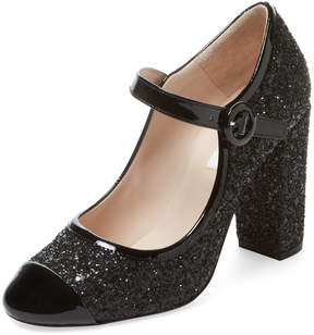 LK Bennett L.K.Bennett Women's Marla Cap-Toe Mary Jane Pump