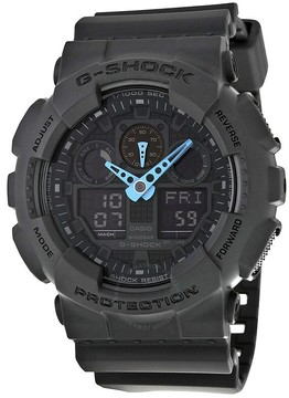 Casio G Shock Grey Dial Resin Men's Watch