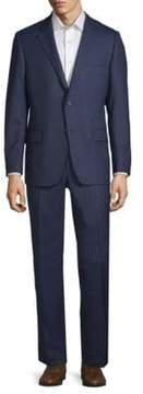 Hickey Freeman Milburn II Wool Pinstripe Suit