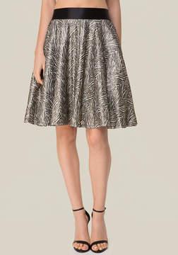 Bebe Stretch Velvet Skirt