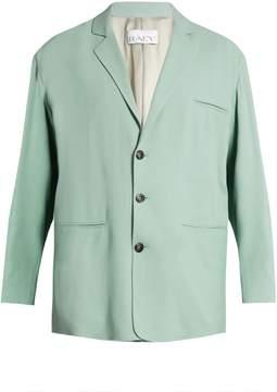 Raey Soft-tailored crepe blazer