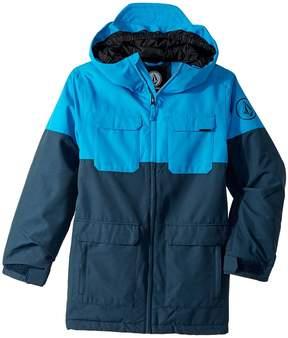 Volcom Blocked Insulated Jacket Boy's Coat