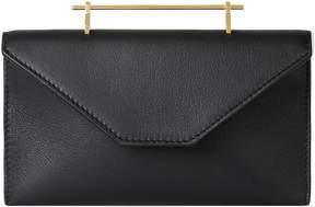 M2Malletier Annabelle Calfskin Leather Clutch
