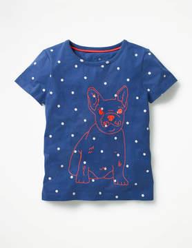 Boden Neon Stitch T-shirt