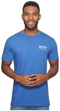 RVCA Logo Squig Tee Men's T Shirt