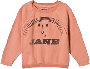 Bobo Choses Lobster Bisque Little Jane Raglan Sweatshirt