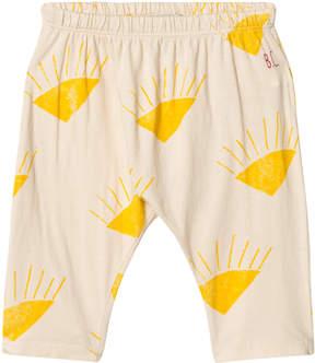 Bobo Choses Buttercream Sun Print Baggy Trousers