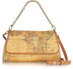Alviero Martini 1A Classe 1a Prima Classe - Geo Printed Small Contemporary Shoulder Bag