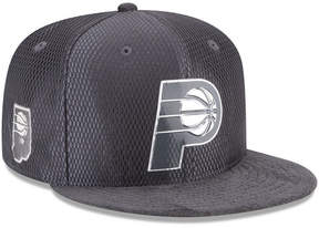 New Era Indiana Pacers On-Court Graphite Collection 9FIFTY Snapback Cap