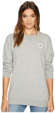 Converse Core Oversized Crew Fleece Top Women's Fleece