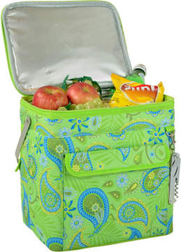 Picnic at Ascot Paisley Green Multi Purpose Drinks Carrier