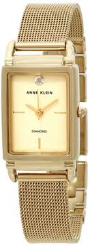 Anne Klein Gold Dial Ladies Watch