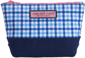 Vineyard Vines Gingham Print Small Zip Pouch
