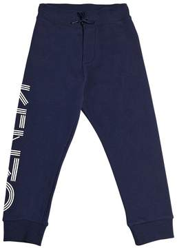 Kenzo Logo Print Cotton Sweatpants