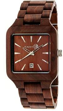 Earth Arapaho Collection ETHEW3603 Unisex Wood Watch with Wood Bracelet-Style Band