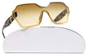Prada PR 15TS VIR1G0 Light yellow Rectangle Sunglasses