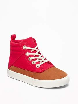 Old Navy Color-Blocked High-Tops for Toddler Boys