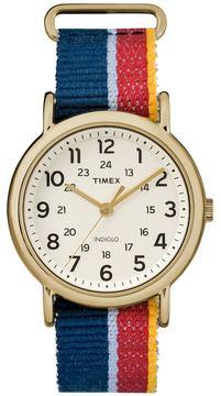 Timex Women's Weekender Striped Watch - TW2R10100JT