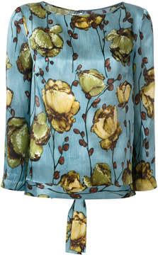 Antonio Marras floral print top
