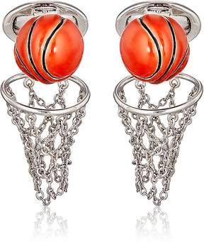 Jan Leslie Men's Basketball & Net Cufflinks