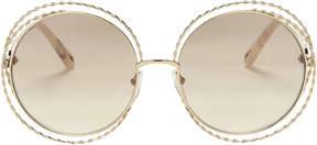 Chloé Rope Metal Round Sunglasses