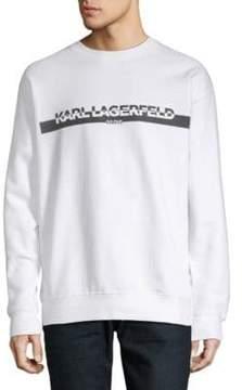 Karl Lagerfeld Graphic Logo Sweatshirt