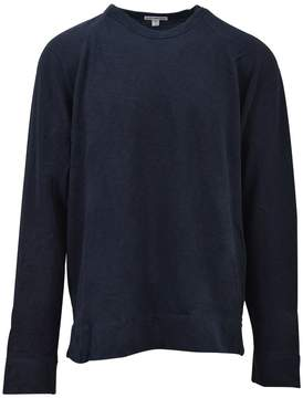 James Perse Blue Crewneck Sweatshirt