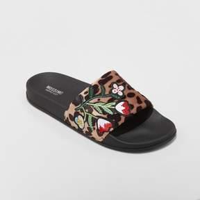 Mossimo Women's Luann Leopard Print Slide Sandals