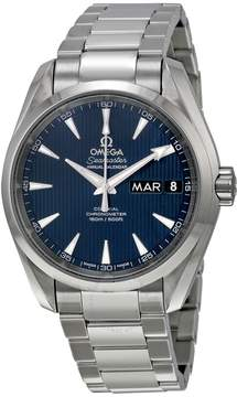 Omega Aqua Terra Annual Calendar Blue Dial Men's Watch