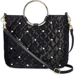 Arizona Velvet Pearls Satchel