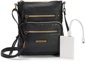 Co Stone & Plugged In Phone Charging Crossbody Bag