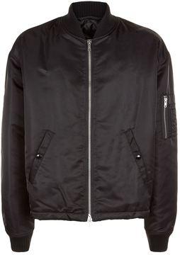 Raf Simons Oversized Back Motif Bomber Jacket
