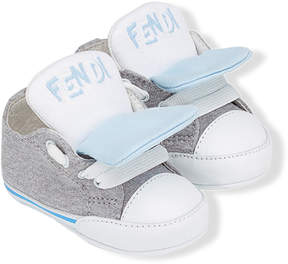 Fendi round toe sneakers