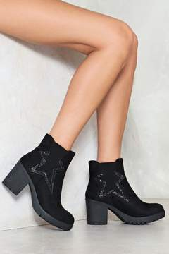 Nasty Gal Beneath the Stars Vegan Suede Boot