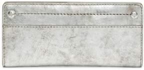 Frye Demi Slim Metallic Leather Wallet