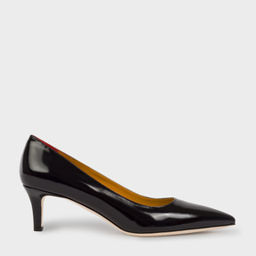 Paul Smith Women's Navy Calf Leather 'Blanca' Shoes