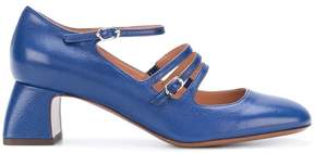 L'Autre Chose cross strap pumps