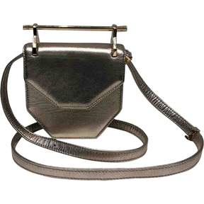M2Malletier Gold Leather Handbag