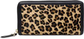 Radley London Witley Leopard-Print Zip-Around Leather Wallet